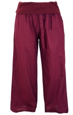 Goa wellness yoga pants hippie pants - bordeaux