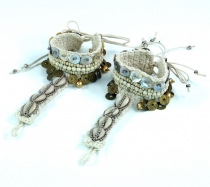 Barefoot sandals, anklets, foot jewellery, goash jewellery, baref..