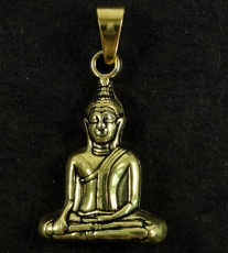 Buddha pendant made of brass - gold