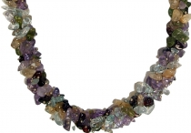 Semi-precious necklace multi 1
