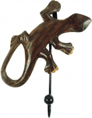 Wooden coat hook, wall hook - Gecko 4