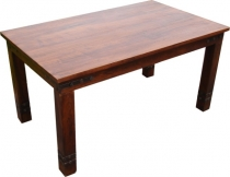 Colonial style dining table R509 dark classic - Model 4