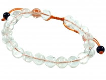 Mala Bracelet Rock Crystal, Handmala - Model 19