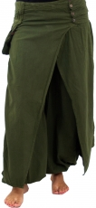 Muck trousers, harem pants Fancy - olive