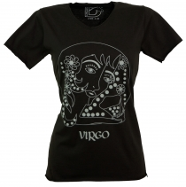 Zodiac sign T-Shirt `Virgo` - black
