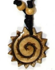 Ethno Amulet, Tibet Necklace, Tibet Jewellery - Sunspiral