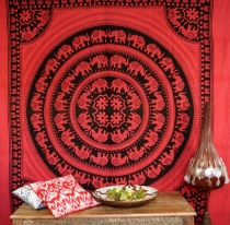 Wall hanging, wall cloth, mandala, bedspread Celtic - Design 17