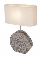 Table Lamp/Table Lamp, handmade in Bali in Timor Style - Model Me..