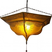 Henna - Leather ceiling lamp/ceiling lamp Tuareg