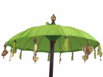 ceremonial umbrella, asian decorative umbrella - lemon